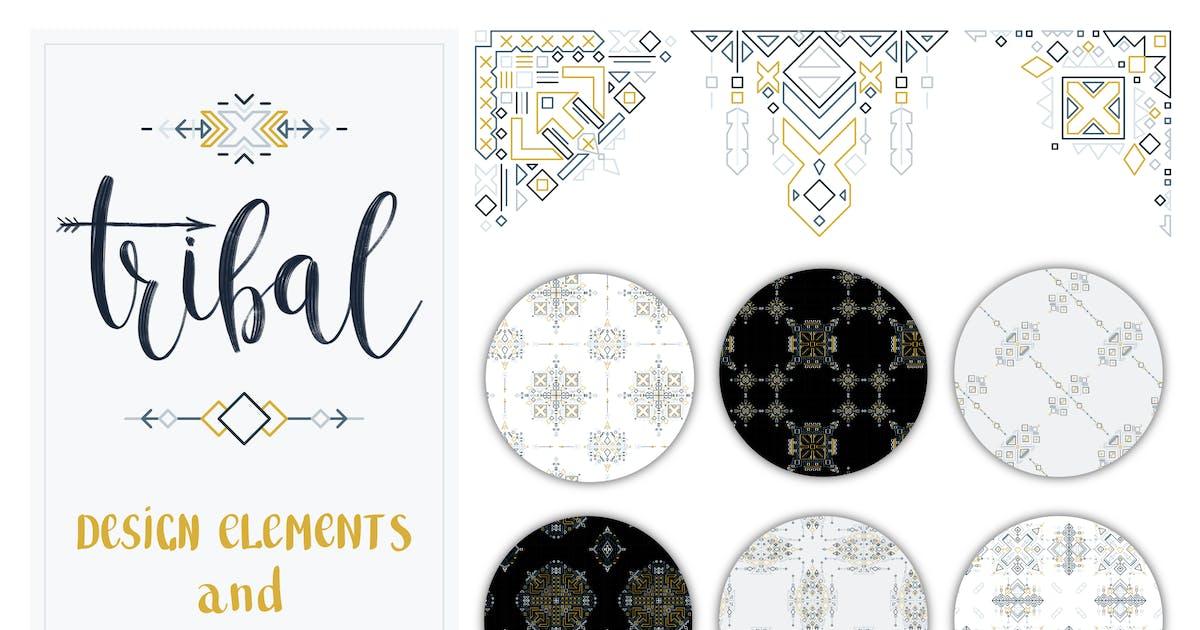Download Tribal Design Elements and Patterns by NataliyaDolotko