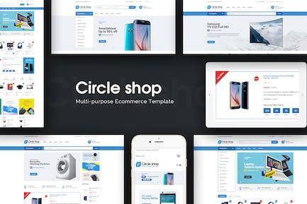 CircleShop - Responsive Prestashop Theme
