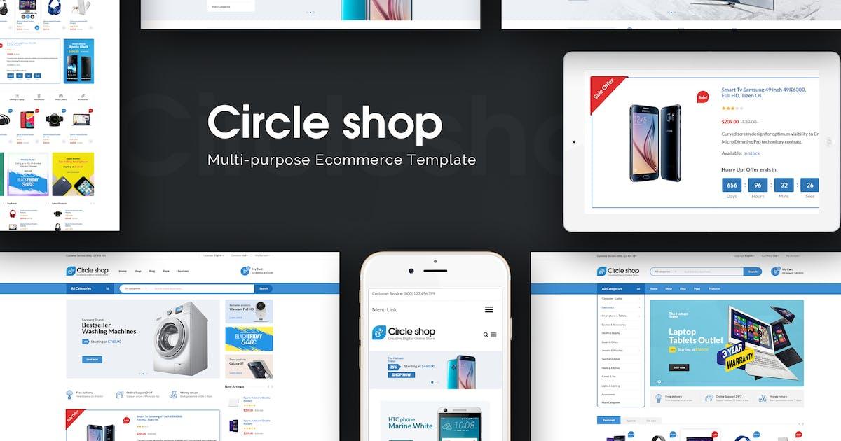 Download CircleShop - Responsive Prestashop Theme by Plaza-Themes