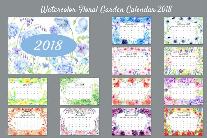Thumbnail for 2018 Floral Garden Calendar