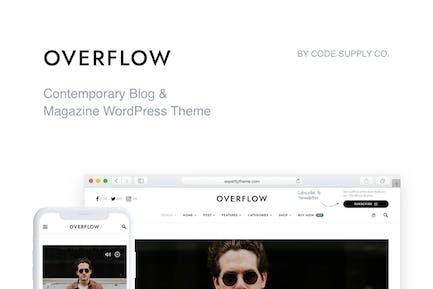 Overflow - Modern Blog & Magazine WordPress Theme