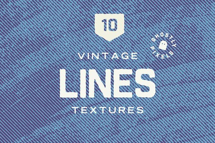 Vintage Lines Texturen Band 2