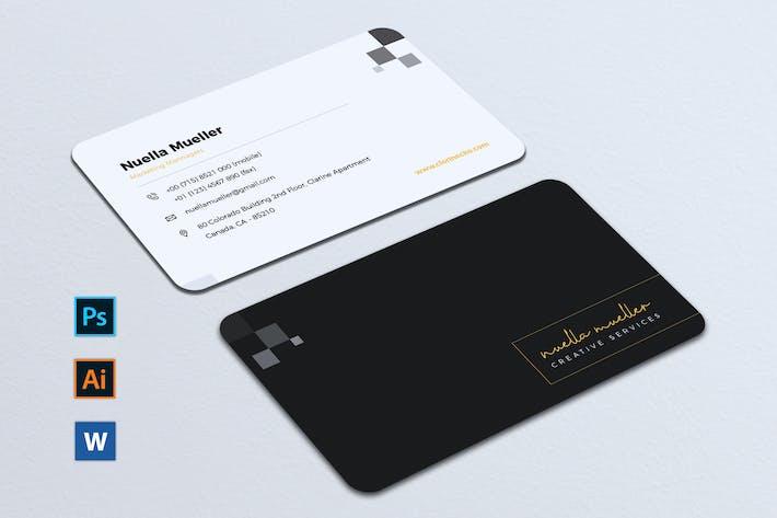 Thumbnail for Minimalist Business Card Vol. 07