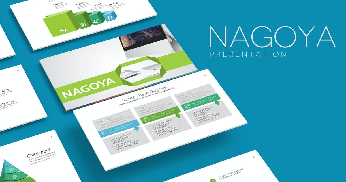 Download NAGOYA Powerpoint Template by Unknow