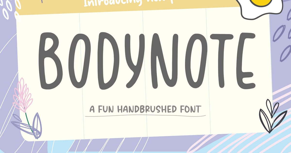 Download Bodynote Brush Font YH by GranzCreative