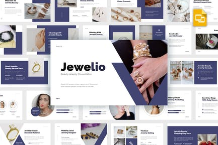 Jewelio - Beauty Jewelry Google Sldies Template