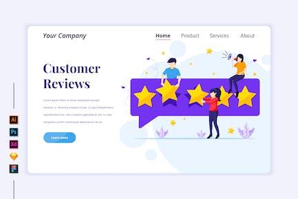 Customer Reviews Illustration - Agnytemp