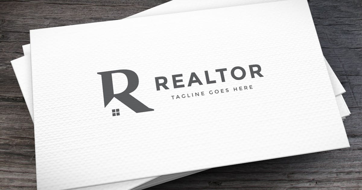Download Realtor Logo Letter R Template by empativo