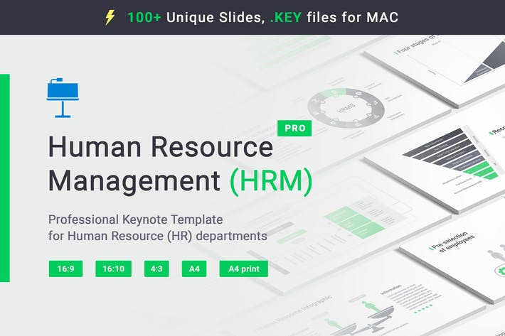 Thumbnail for Human Resource HRM Keynote Template