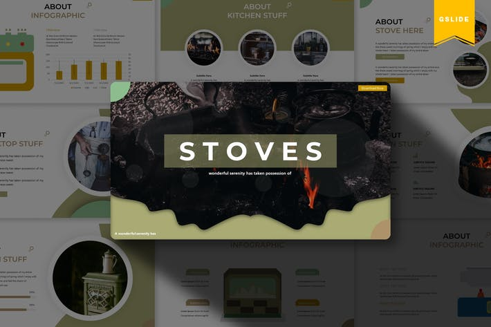 Thumbnail for Stove | Google Slides Template
