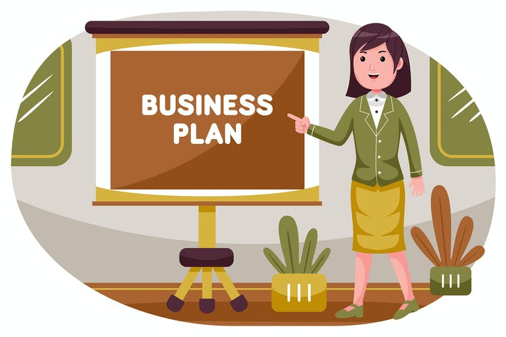 Thumbnail for Business Vector Illustration #01