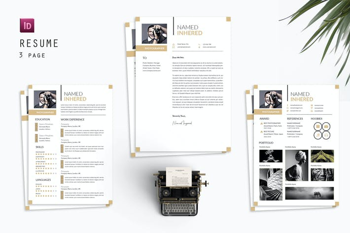 PhotoGraphher  Resume Designer