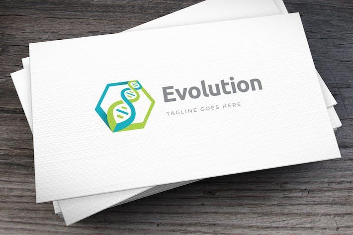 Thumbnail for Evolution Logo Template
