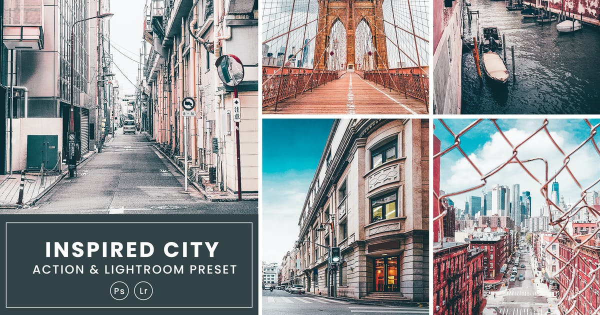 Download Inspired City Action & Lightrom Presets by nmc2010