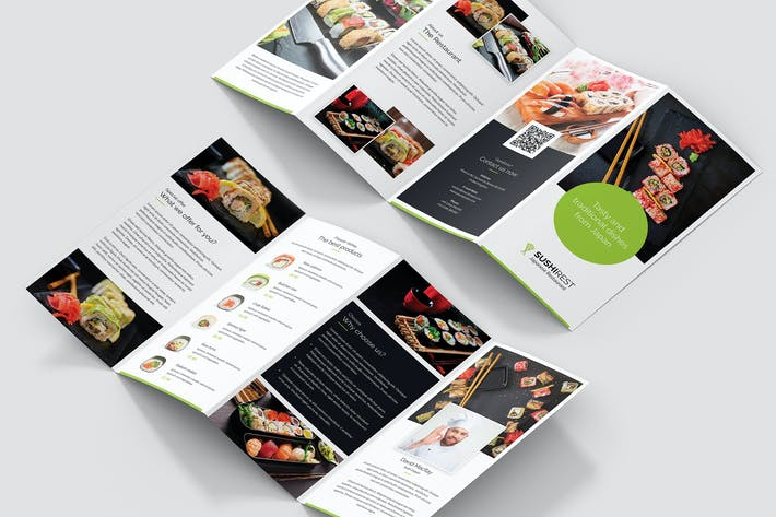 Thumbnail for Brochure – Sushi Restaurant 4-Fold
