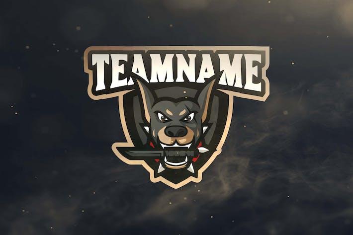 Thumbnail for Dog Sport and Esports Logos