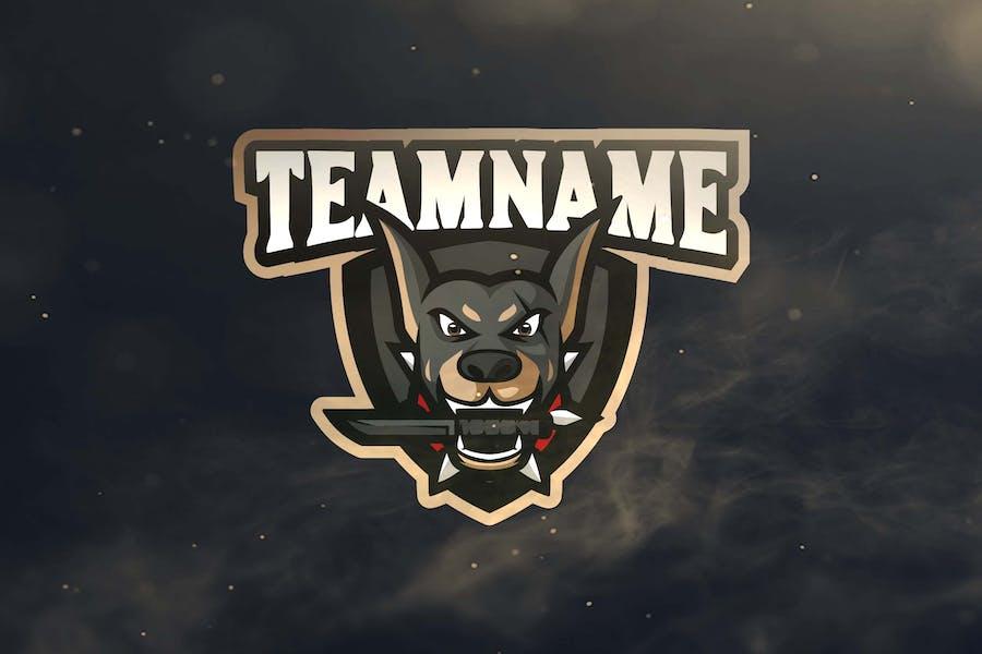Dog Sport and Esports Logos