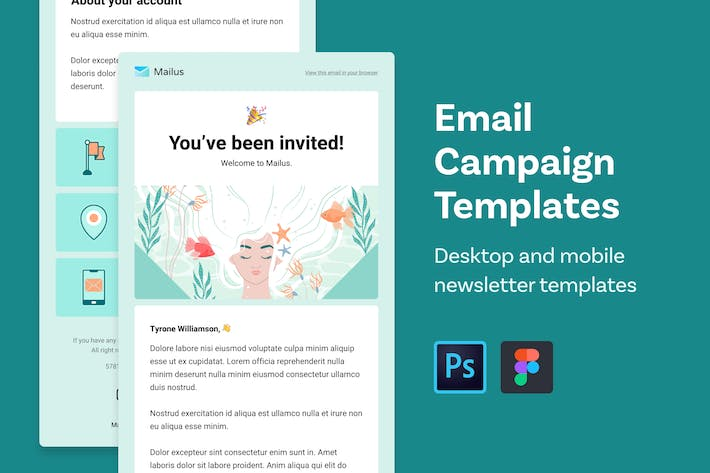 Thumbnail for Email Templates (Profile and Welcome)