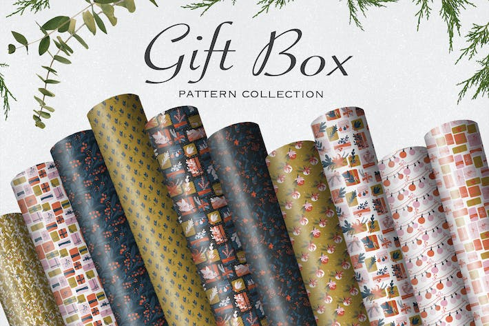Cover Image For Gift Box