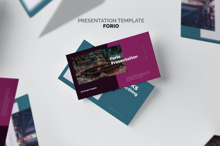 Thumbnail for Forio : Business Google Slides