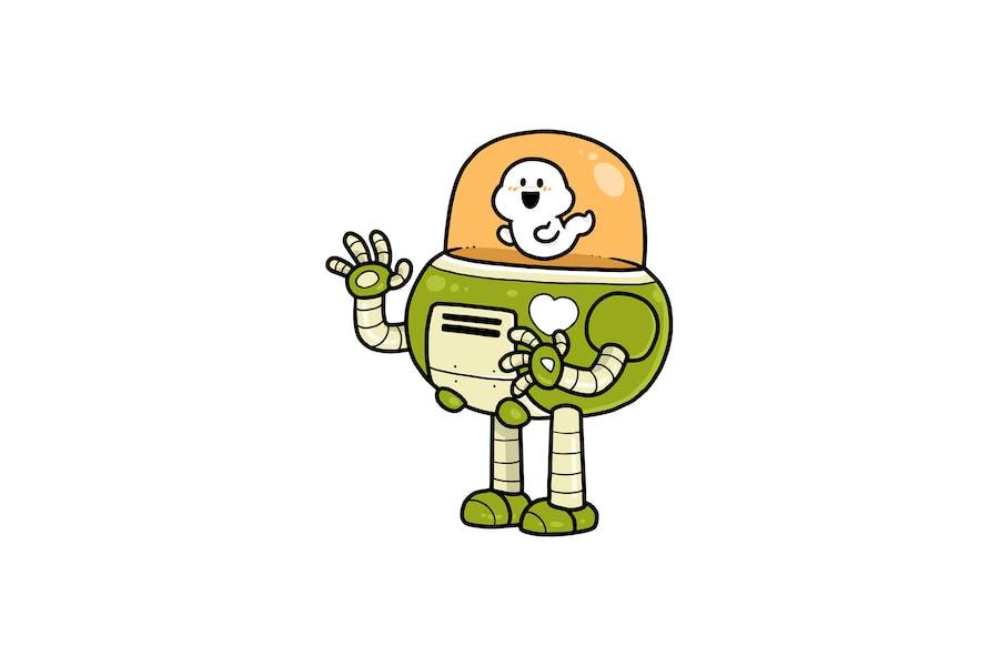 Ghost роботизированный - Персонаж RG