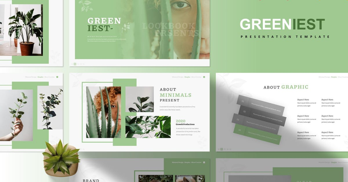 Download Greeniest | Presentation Template by Vunira