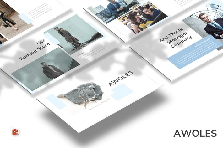 Cover Image For Awoles - Powerpoint Template