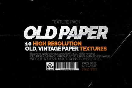 Old Paper - Texture Pack