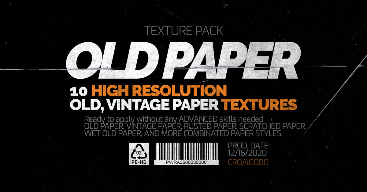 Download Old Paper - Texture Pack by LeoSupply