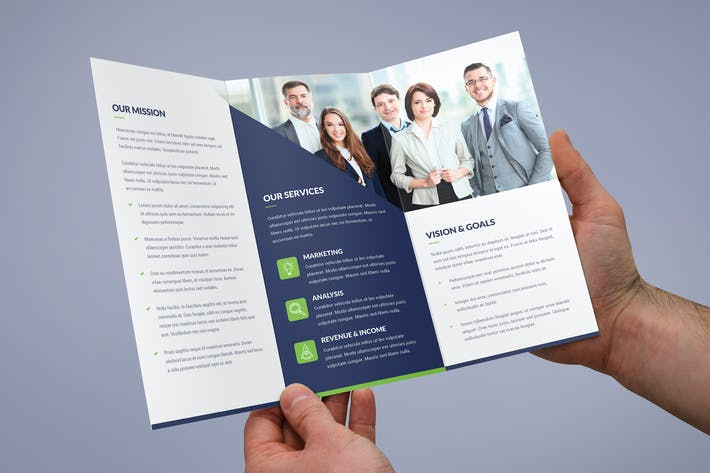 Thumbnail for Brochure – Company Tri-Fold