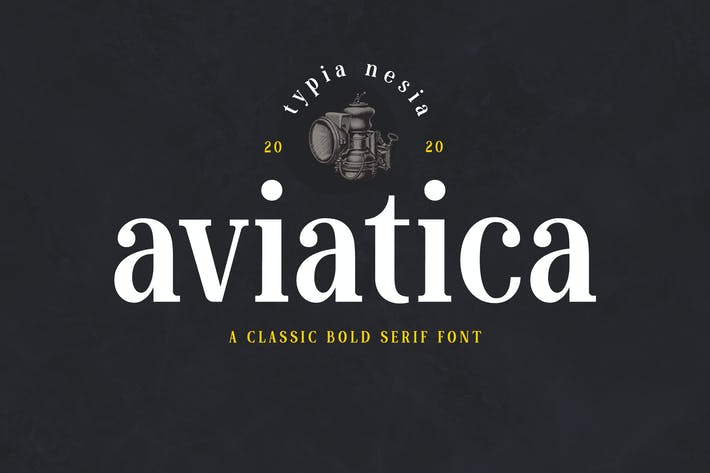 Thumbnail for Aviatica Classic Serif