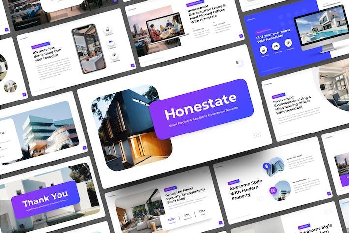 Single Property & Real Estate Google Slides