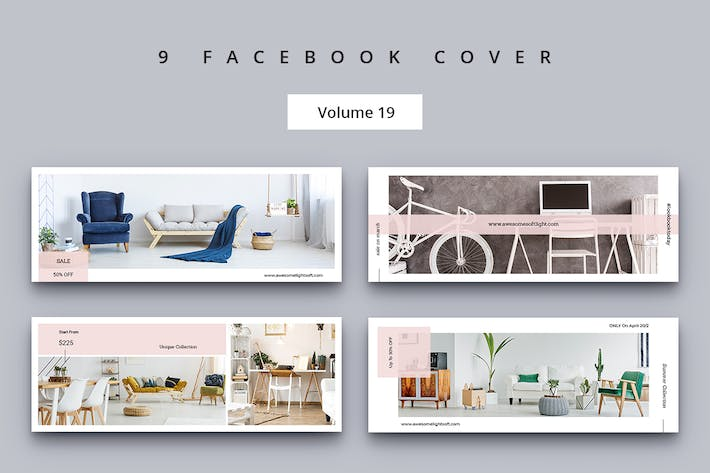 Thumbnail for Facebook Cover Vol. 19