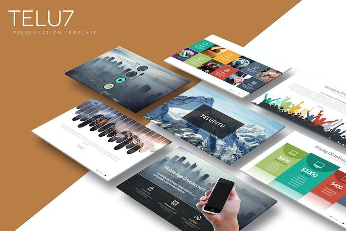 Thumbnail for Telu7 - Plantilla de Keynote