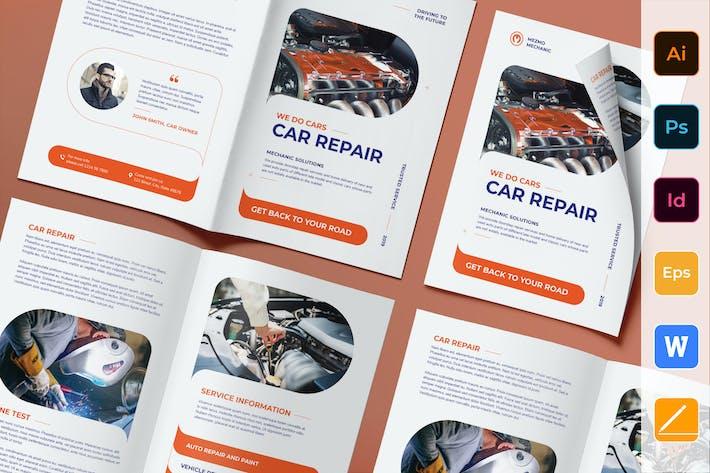 Thumbnail for Car Repair Brochure Bifold