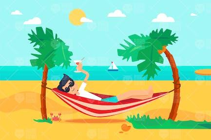 Vacaciones de sol y Mar en la Isla