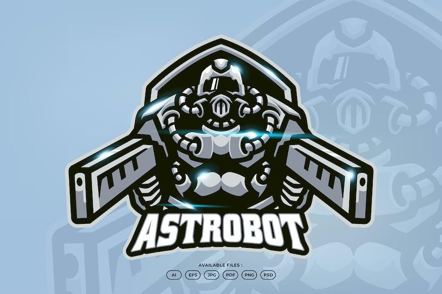 Cyborg Esports Mascot Logo
