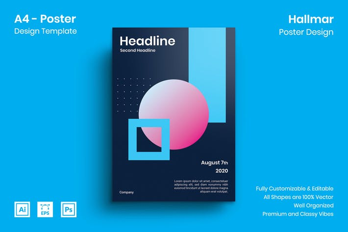 Thumbnail for Hallmar Poster Design