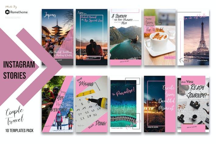 Thumbnail for Couple Travel Instagram Stories