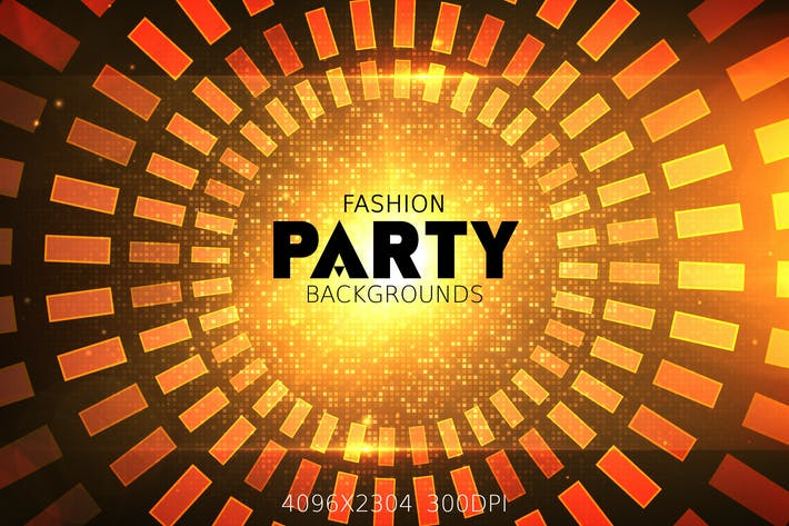 Thumbnail for Fashion Party Backgrounds