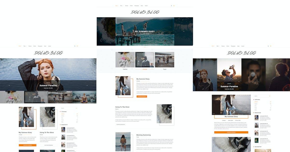 Download Dolus - Blog WordPress Theme by GomalThemes