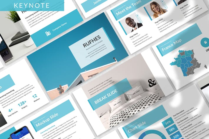 Thumbnail for Rufhes - Business Keynote Template