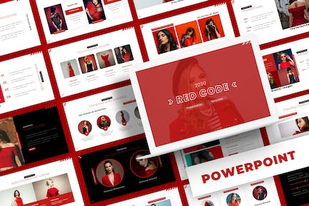 Red Code - Powerpoint Template