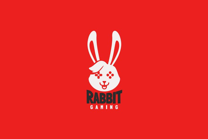 Thumbnail for Rabbit Gaming Logo Template