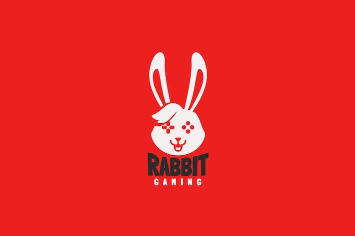 Thumbnail for Rabbit Gaming Logo Template
