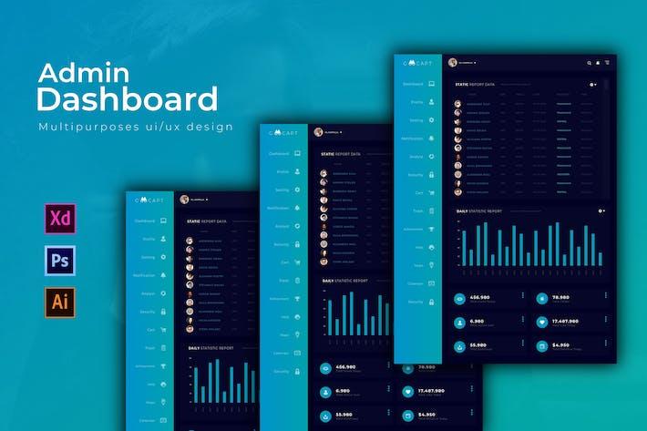 Thumbnail for Goocapt Dashboard | Admin Template