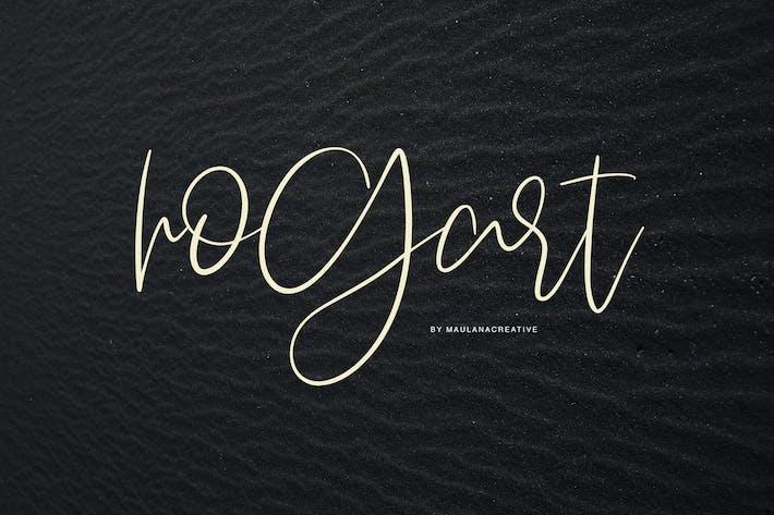 Thumbnail for Hogart Script