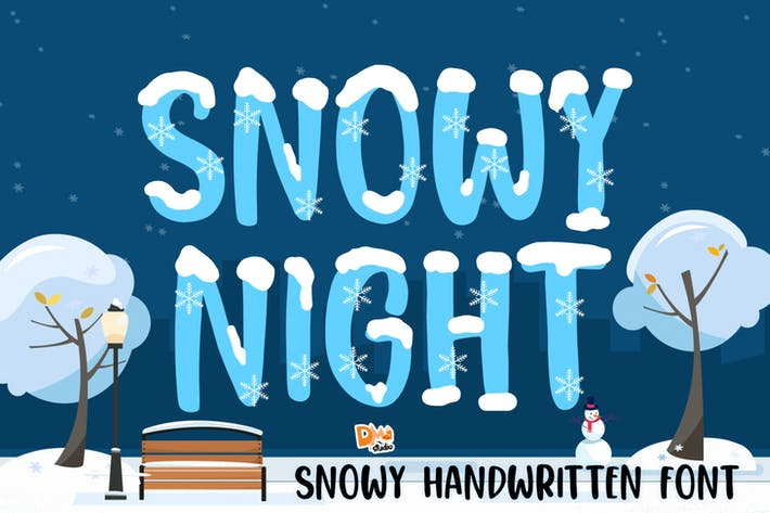 Thumbnail for Snowy Night