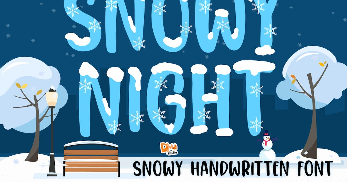 Download Snowy Night by DmLetter