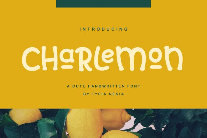 Cover Image For Charlemon Cute Font
